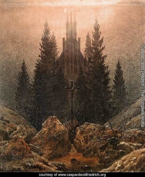 The Cross on the Mountain, Kunstmuseum at Dusseldorf