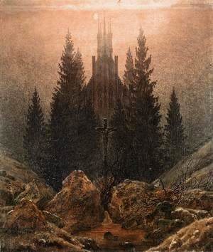 Caspar David Friedrich - The Cross on the Mountain, Kunstmuseum at Dusseldorf