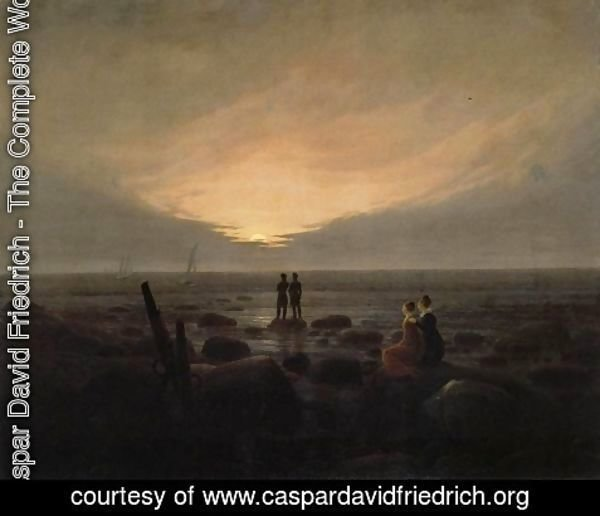 Caspar David Friedrich - Moonrise by the Sea