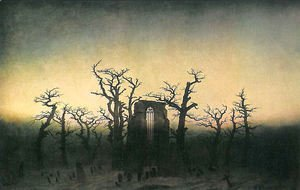 Caspar David Friedrich - Abbey in the Oakwood