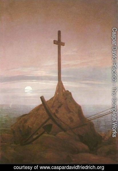Caspar David Friedrich - The Cross on the Baltic