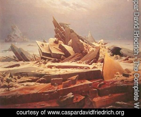 Caspar David Friedrich - The Polar Sea