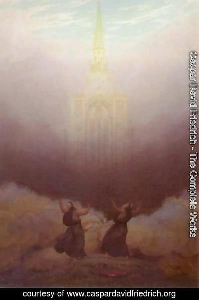 Caspar David Friedrich - Vision of the Christian Church