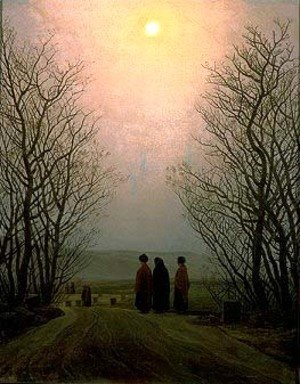 Caspar David Friedrich - Easter Monday