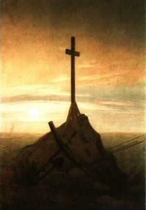 Caspar David Friedrich - Cross on the Baltic Sea