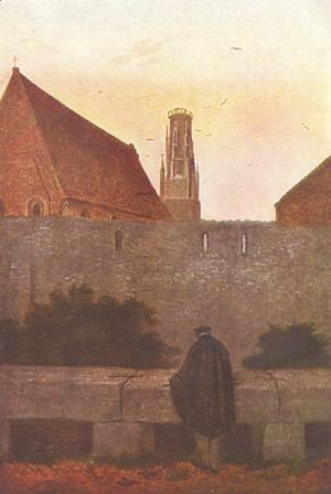 Caspar David Friedrich - At the stadtmauer