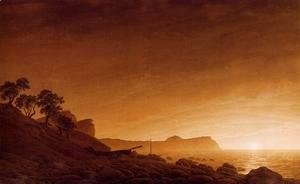 Caspar David Friedrich - Cape Arkona