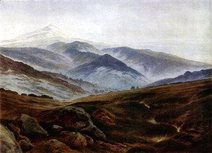 Caspar David Friedrich - Giant mountains