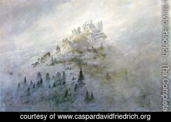 Caspar David Friedrich - Morning fog in mountains