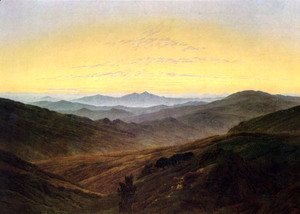 Caspar David Friedrich - The Riesengebirge