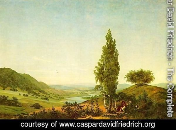 Caspar David Friedrich - The summer