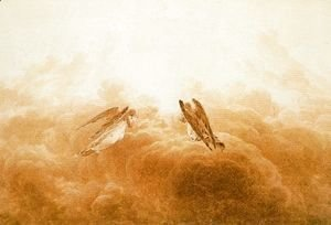 Caspar David Friedrich - Angels in Adoration