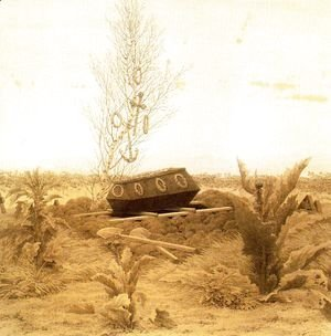 Caspar David Friedrich - Coffin and Grave