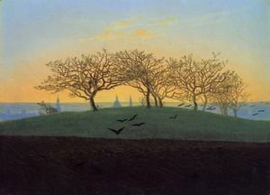 Caspar David Friedrich - Hill and Ploughed Field near Dresden