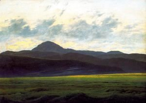 Caspar David Friedrich - Landscape in the Riesengebirge 2