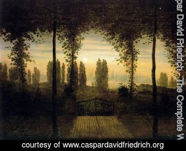 Caspar David Friedrich - Picture in Remembrance of Johann Emanuel Bermer
