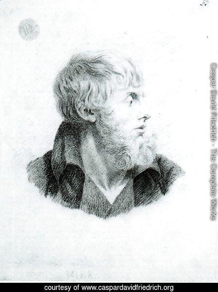 caspar david friedrich - the complete works - self-portrait