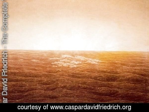 Caspar David Friedrich - Sunrise over the Sea