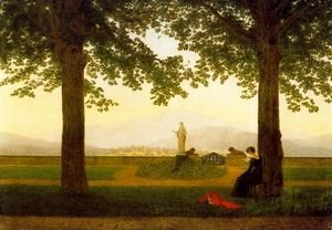 Caspar David Friedrich - The Garden Terrace