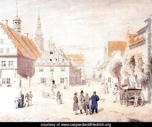 The Marketplace in Greifswald