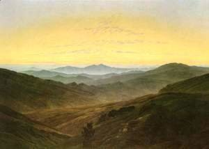 Caspar David Friedrich - Landscape
