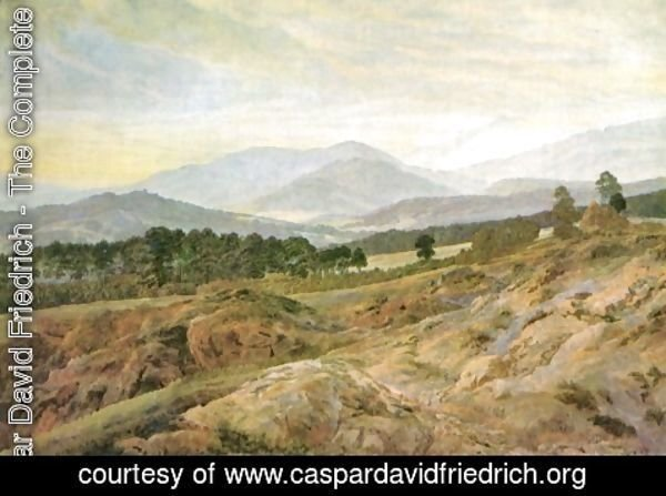 Caspar David Friedrich - Giant mountains 2