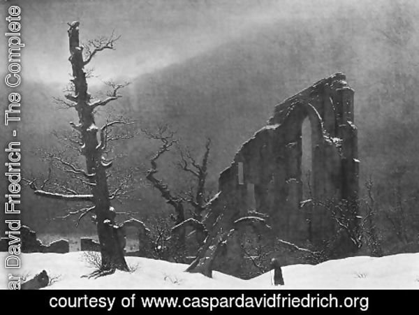 Caspar David Friedrich - Winter 2