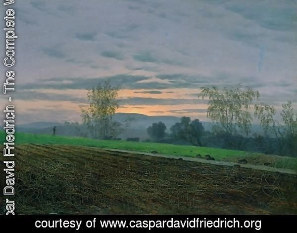 Caspar David Friedrich - Plowed field