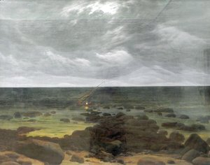 Caspar David Friedrich - Coast Scene