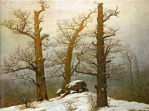 Caspar David Friedrich - Winter Light