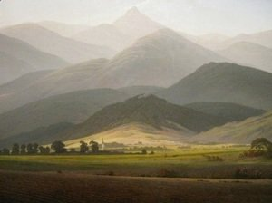 Caspar David Friedrich - View from the Small Warmbrunn Sturmhaube