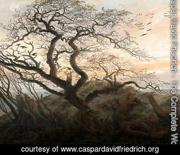 Caspar David Friedrich - The Tree of Crows c. 1822
