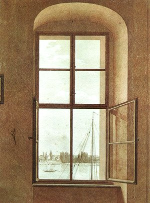 View from the Painter's Studio 1805-06