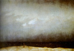 Caspar David Friedrich - Capuchin Friar By The Sea