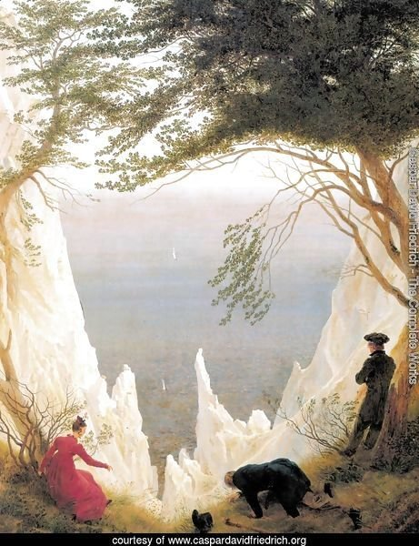 Chalk Cliffs on Rügen c. 1818