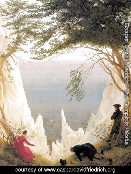 Caspar David Friedrich - Chalk Cliffs on Rügen c. 1818