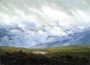 Caspar David Friedrich - Drifting Clouds c. 1820