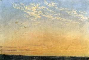 Caspar David Friedrich - Evening c. 1824