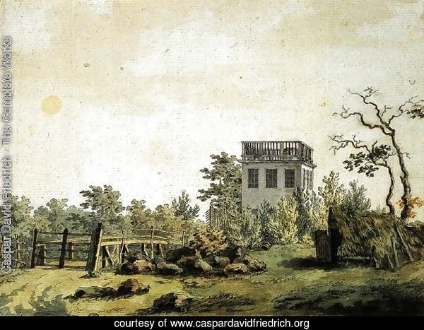 Landscape with Pavilion c. 1797