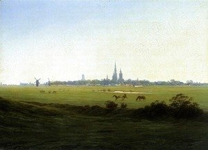 Meadows near Greifswald c. 1822