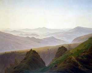 Caspar David Friedrich - Morning in the Mountains 1822-23