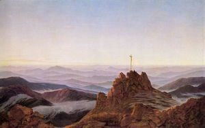 Caspar David Friedrich - Morning in the Riesengebirge 1810-11