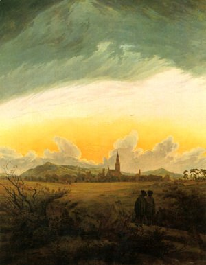 Caspar David Friedrich - Neubrandenburg c. 1817
