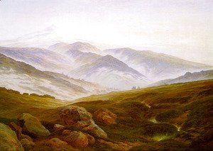Caspar David Friedrich - Riesengebirge 1835