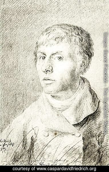 Caspar David Friedrich - Self Portrait 1800