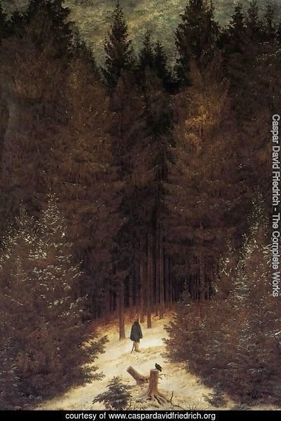 Caspar David Friedrich The Complete Works The Chasseur