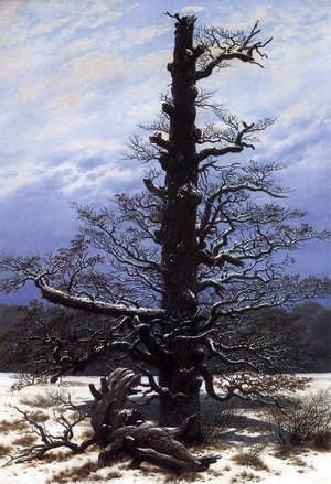 Caspar David Friedrich - The Oaktree in the Snow 1829