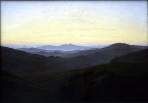 Caspar David Friedrich - The Riesengebirge 1830-35