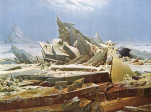 Caspar David Friedrich - The Sea of Ice 1824