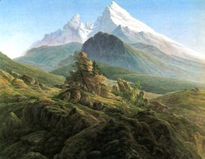Caspar David Friedrich - The Watzmann 1824-25